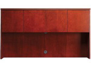 Luminary Series Wood Veneer Hutch Doors, 17W X 1-1/2D X 17-1/4H, Cherr