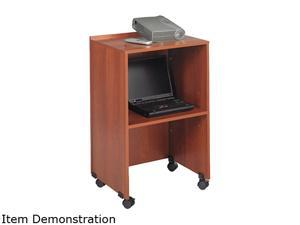 """Safco Projector Stand 1 x Shelf(ves) - 45"""" Height - Laminate - Particleboard - Cherry"""