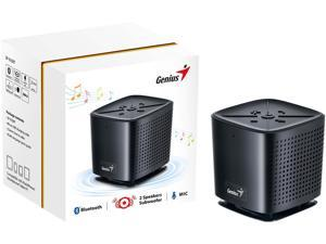 Genius Speaker 31731062100 SP-925BT Black Bluetooth 4.0 Portable Speaker Retail