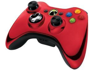 Microsoft Xbox 360 Chrome Series Limited Edition Wireless Controller - Red