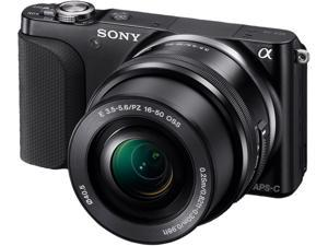 Sony Alpha NEX-3NL/B Mirrorless Digital Camera with 16-50mm Lens (Black)