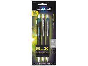 Uni-ball Jetstream RT BLX Bold Point Roller Ball Pens, 3 Colored Ink Pens