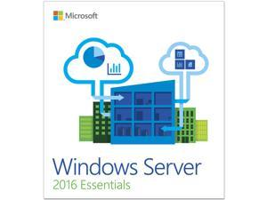 Windows Server 2016 Essentials - 1 Server, 2 CPU - OEM