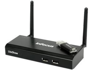 InFocus INLITESHOW4 LiteShow 4 Wireless Presentation Adapter For Any Projector/Display