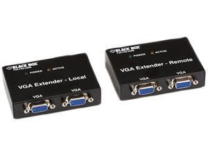 Black Box VGA Extender Kit, 2-Port Local, 2-Port Remote