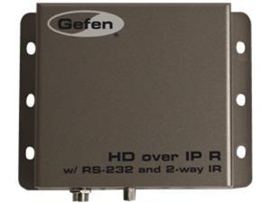 Gefen Extend HDMI over IP with RS-232 and Bi-Directional IR EXT-HD2IRS-LAN-RX