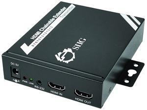 Siig HDMI to CAT5e Daisy Chain HD Extender Kit with RS-232 & IR CE-H22611-S1