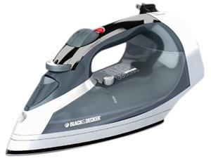 Black & Decker Steam Iron with Non-Stick Sole Plate and Retractable Cord Reel ICR05X