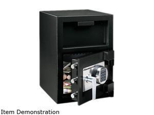Depository Safe, 0.94 Ft3, 14W X 16D X 20H, Black