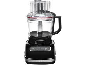 KitchenAid 11-c. Food Processor with ExactSlice, Onyx Black