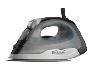 Brentwood MPI-53 Non-Stick Steam, Spray and Dry Iro, Black