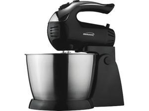 Brentwood Appliances SM-1153 5-Speed Stand Mixer with Stainless Steel Bowl, 200-watt, Black