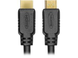 Rocstor Y10C106-B1 1M Hdmi To Hdmi M/M With Ethernet Cable Black