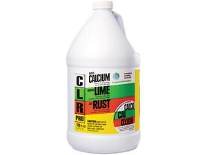 CLR CL-4 Calcium, Lime, and Rust Cleaner - 1 Gallon