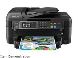 Epson WorkForce 2660 Inkjet Multifunction Printer - Color - Plain Paper Print - Desktop