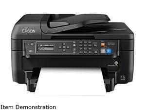 EPSON WorkForce WF-2750 (C11CF76201) Duplex 4800 dpi x 1200 dpi wireless/USB color Inkjet All-in-One Printer