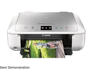 Canon PIXMA MG6822 Wireless Inkjet All-In-One Printer - White/Silver