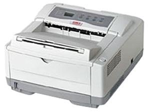 Okidata B4600 (62446501) 600 x 2400 dpi USB / Parallel Monochrome Laser Printer - White
