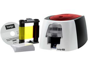 Evolis B22U0000RS Badgy200 Color ID Card Printer