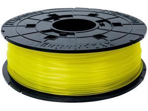 XYZprinting da Vinci PLA Filament (for 1.0, 1.1+, AiO, 2.0, Pro), CLEAR YELLOW Color