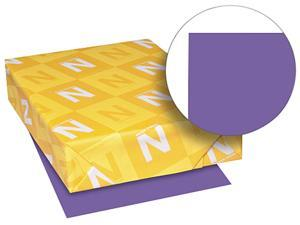 Neenah Paper 21961 Astrobrights Colored Paper, 24lb, 8-1/2 x 11, Gravity Grape, 500 Sheets/Ream