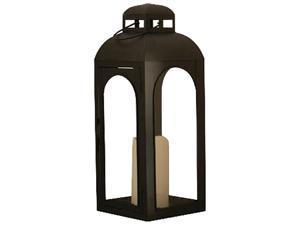 Smart Solar 84045-LC Moreno 17 in. H Lantern with in Black finish