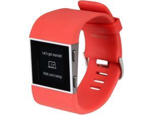 Fitbit Surge GPS Activity Tracker (Tangerine, Large)