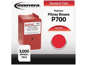 Compatible With 793-5 Postage Meter, 3000 Page-Yield, Red