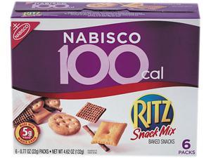 Ritz 100 Calorie Snack Mix, 6/Box