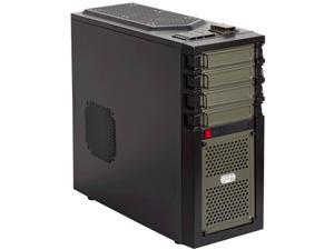 Antec GX GX 700 Black and military green Case With Side Panel Window