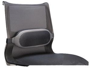 "Fellowes 9311601 I-Spire Series Lumbar Cushion Adjustable Strap, Buckle Closure, Breathable - 13.4"" x 6.1"" x 2.6"" - Gray"