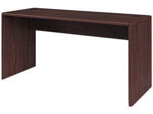 "HON 107815XNN Credenza Shell (with 10""H Modesty Panel) 60"" W x 24"" D x 29.5"" H - Laminate, Mahogany"