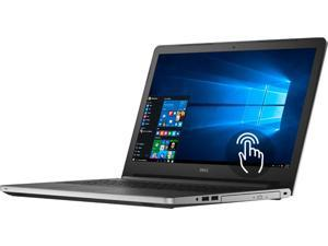 "DELL Laptop Inspiron 15 (i5559-8013SLV) Intel Core i7 6500U (2.50 GHz) 16 GB Memory 1 TB HDD AMD Radeon R5 M335 15.6"" Touchscreen Windows 10 Home 64-Bit"