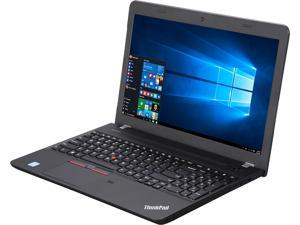 "Lenovo Laptop ThinkPad E560 (20EV002FUS) Intel Core i5 6200U (2.30 GHz) 4 GB Memory 500 GB HDD Intel HD Graphics 520 15.6"" Windows 7 Professional 64-Bit preinstalled through downgrade rights in Window"