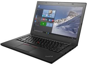 "Lenovo Laptop ThinkPad T460 (20FN005AUS) Intel Core i5 6th Gen 6200U (2.30 GHz) 8 GB Memory 500 GB HDD Intel HD Graphics 520 14.0"" Windows 10 Pro 64-Bit"
