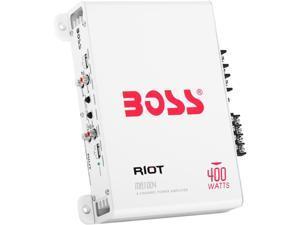 BOSS Audio MR1004 Riot 400W 4 Channel Full Range, Class A/B Amplifier