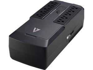V7 550 VA Desktop UPS 10 Outlets 120V AC - UPS1DT550-1N