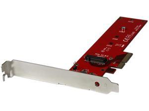 StarTech PEX4M2E1 M.2 Adapter - x4 PCIe 3.0 NVMe - Low Profile and Full Profile - SSD PCIE M.2 Adapter - M2 SSD - PCI Express SSD