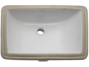 DecoLav 1402-CWH Lavatory Sink , Fixture, White