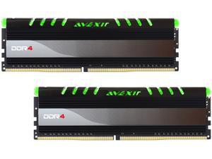 Avexir Core Series 8GB (2 x 4GB) 288-Pin DDR4 SDRAM DDR4 2400 (PC4 19200) Desktop Memory Model AVD4UZ124001604G-2COG
