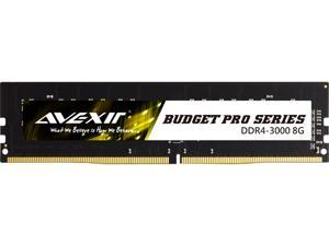Avexir Budget Pro Series 8GB 288-Pin DDR4 SDRAM DDR4 3000 (PC4 24000) Desktop Memory Model AVD4UZ130001708G-1BP