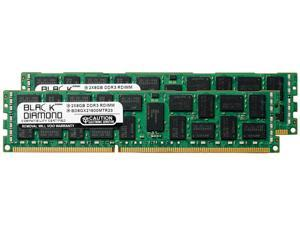 Black Diamond Memory 16GB (2 x 8GB) 240-Pin DDR3 SDRAM ECC Registered DDR3 1600 (PC3 12800) Server Memory Model BD8GX21600MTR23