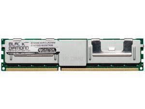 Black Diamond Memory 64GB (2 x 32GB) 240-Pin DDR3 SDRAM ECC Load Reduced DDR3 1600 (PC3 12800) Server Memory Model BD32GX21600MTR96