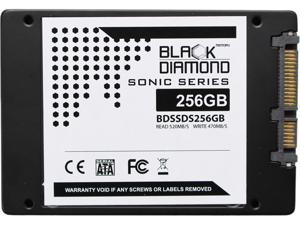 "Black Diamond Memory Sonic Series BDSSDS256G 2.5"" 256GB SATA III Internal Solid State Drive"