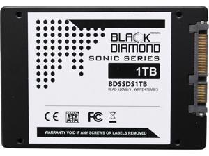 "Black Diamond Memory Sonic Series BDSSDS1T 2.5"" 1TB SATA III TLC Internal Solid State Drive"