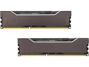 Klevv Fit 8GB (2 x 4GB) 240-Pin DDR3 SDRAM DDR3 1600 (PC3 12800) Desktop Memory Model KM3F4GX2C-1600-09-09-09-24-0