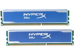 HyperX Blu 4GB (2 x 2GB) 240-Pin DDR3 SDRAM DDR3 1333 Desktop Memory Model KHX1333C9D3B1K2/4G