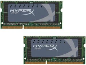 HyperX 16GB (2 x 8G) 204-Pin DDR3 SO-DIMM DDR3 1600 Laptop Memory HyperX Plug n Play Model KHX16S9P1K2/16
