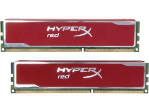 HyperX Blu Red Series 4GB (2 x 2GB) 240-Pin DDR3 SDRAM DDR3 1600 Desktop Memory