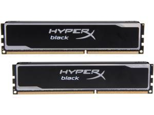 HyperX Black 16GB (2 x 8GB) 240-Pin DDR3 SDRAM DDR3 1600 (PC3 12800) Desktop Memory Model KHX16C10B1BK2/16X